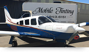 Aircraft Tinting - Palmdale & Lancaster, CA
